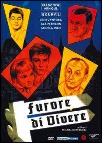 Cover Dvd Furore di vivere (DVD)