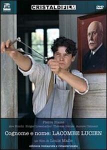Cognome e nome: Lacombe Lucien di Louis Malle - DVD
