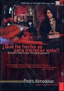 Cosa ho fatto io per meritare questo? di Pedro Almodóvar - DVD