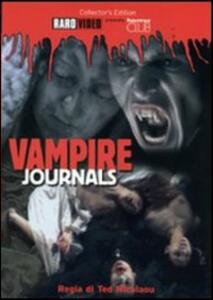 Vampire Journals di Ted Nicolaou - DVD