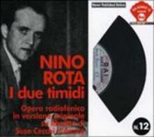 I Due Timidi (Colonna sonora) - CD Audio di Nino Rota