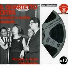 Sassofoni e vecchie trombette - CD Audio di Quartetto Cetra
