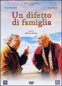 Un difetto di famiglia di Alberto Simone - DVD