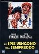 Cover Dvd DVD Le spie vengono dal semifreddo