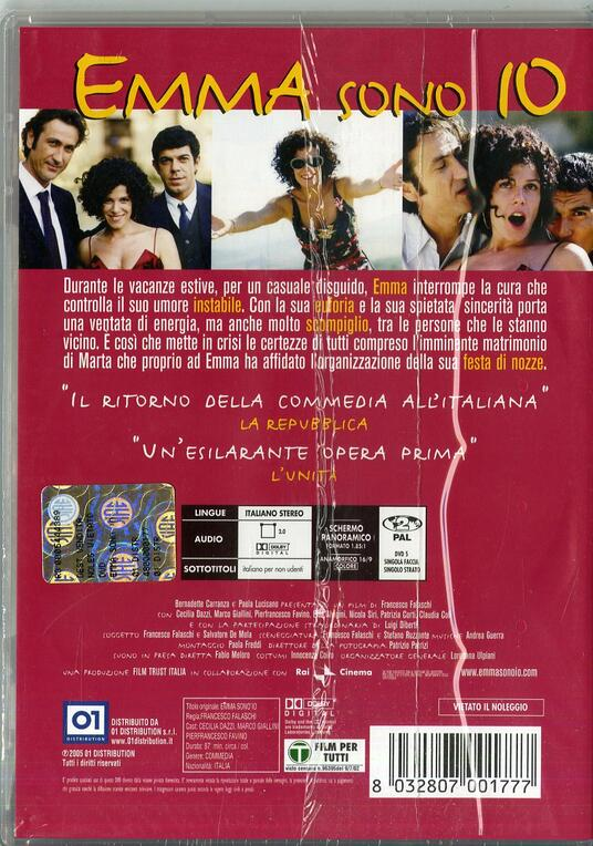 Emma sono io di Francesco Falaschi - DVD - 2