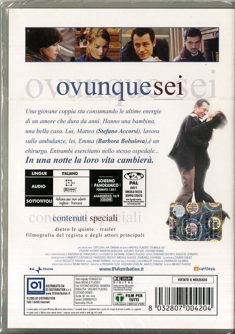 Ovunque sei di Michele Placido - DVD - 2