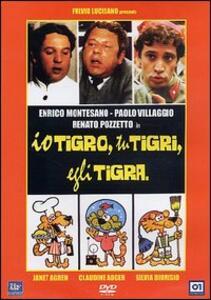 Io tigro, tu tigri, egli tigra di Giorgio Capitani - DVD