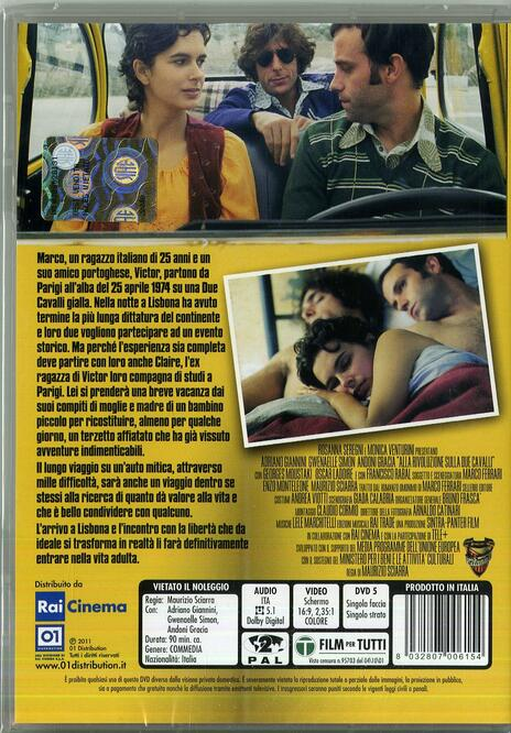 Alla rivoluzione sulla Due Cavalli di Maurizio Sciarra - DVD - 2