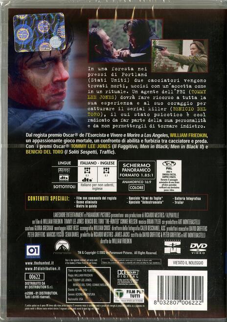 The Hunted. La preda di William Friedkin - DVD - 2