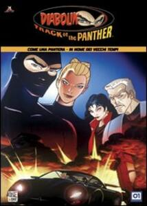 Diabolik. Track of the Panther. Vol. 03 - DVD