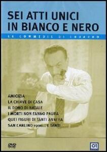 Sei atti unici in bianco e nero di Eduardo De Filippo - DVD