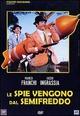 Cover Dvd Le spie vengono dal semifreddo