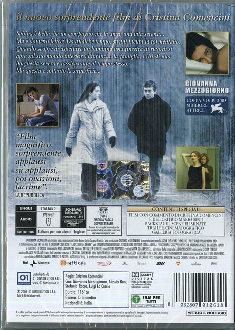 La bestia nel cuore di Cristina Comencini - DVD - 2