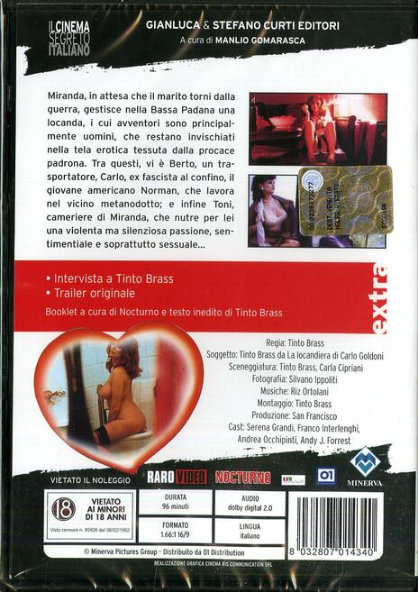 Miranda di Tinto Brass - DVD - 2