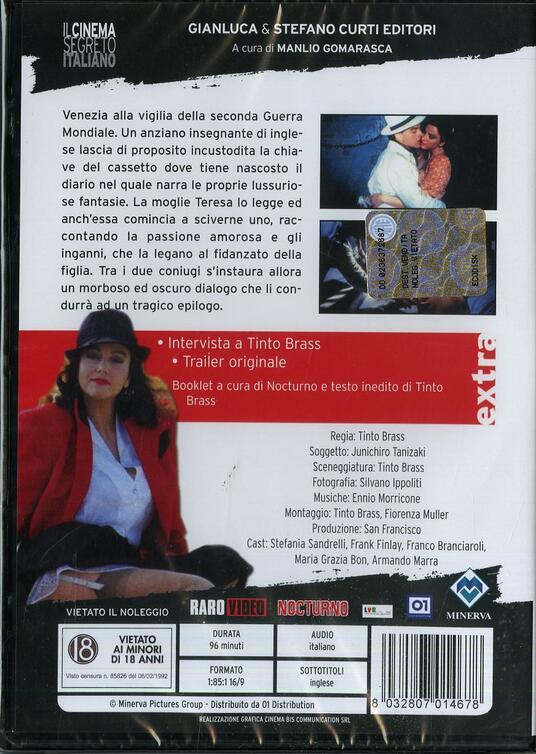 La chiave di Tinto Brass - DVD - 2