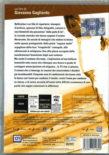 """Bellissime. Seconda parte. Dal 1960 ad oggi dalla parte di """"lei"""" di Giovanna Gagliardo - DVD - 2"""