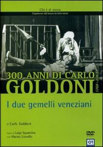 Goldoni. I due gemelli veneziani di Luigi Squarzina - DVD