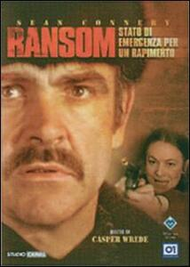 Ransom, stato di emergenza per un rapimento di Casper Wrede - DVD