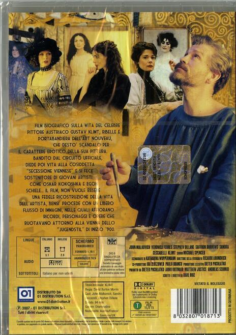 Klimt di Raoul Ruiz - DVD - 2