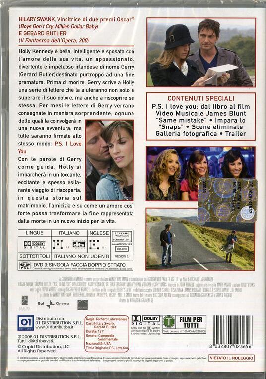 P.S. I love you di Richard LaGravenese - DVD - 2