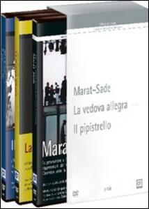 Marat Sade - La vedova allegra - Il pipistrello (3 DVD)