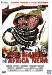 Due bianchi nell'Africa nera di Bruno Corbucci - DVD