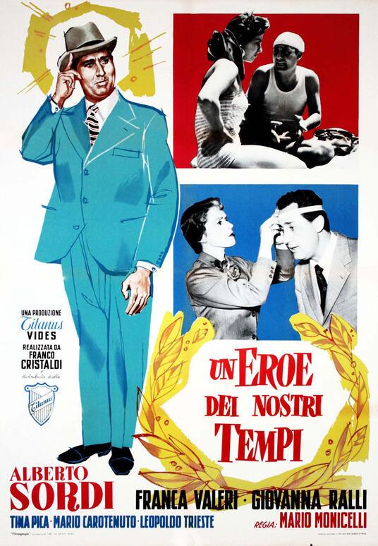 Un eroe dei nostri tempi di Mario Monicelli - DVD