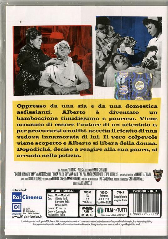 Un eroe dei nostri tempi di Mario Monicelli - DVD - 2