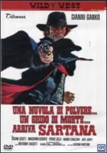 Una nuvola di polvere... un grido di morte... arriva Sartana di Giuliano Carmineo - DVD
