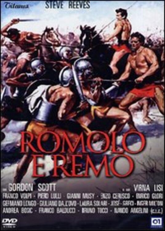 Romolo e Remo di Sergio Corbucci - DVD
