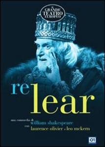 Re Lear di Michael Elliott - DVD