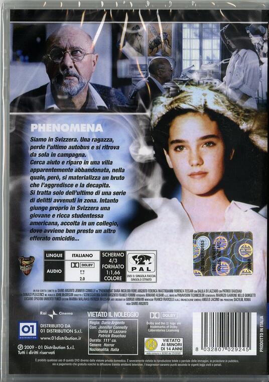 Phenomena di Dario Argento - DVD - 2