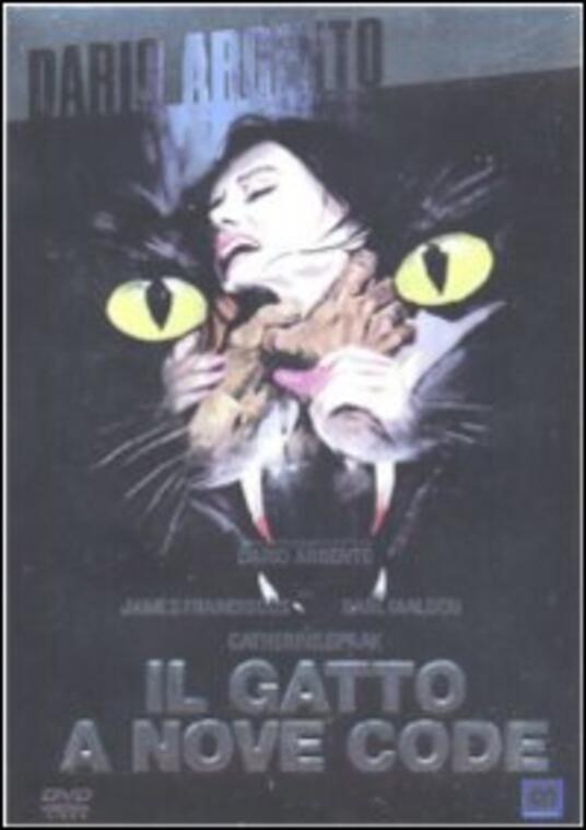 Il gatto a nove code di Dario Argento - DVD
