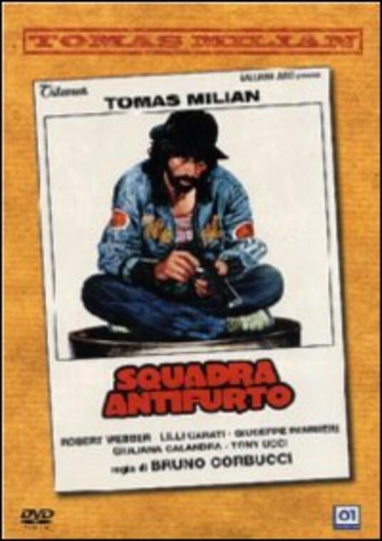 Squadra antifurto di Bruno Corbucci - DVD