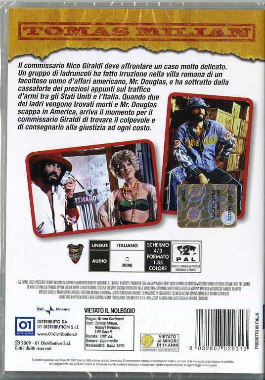 Squadra antifurto di Bruno Corbucci - DVD - 2