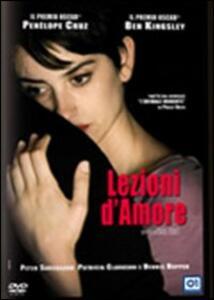 Lezioni d'amore di Isabel Coixet - DVD