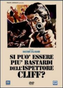 Si può essere più bastardi dell'ispettore Cliff? di Massimo Dallamano - DVD