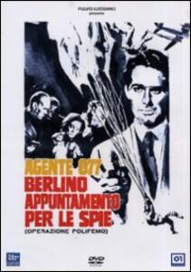 Agente 077. Berlino appuntamento per le spie di Vittorio Sala - DVD