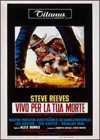 Cover Dvd Vivo per la tua morte