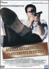 Cover Dvd Agenzia Riccardo Finzi... praticamente detective