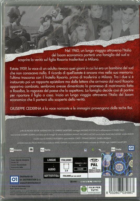 1960 di Gabriele Salvatores - DVD - 2