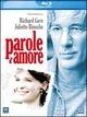 Cover Dvd DVD Parole d'amore