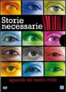 Storie necessarie. Sguardo sul teatro civile (4 DVD) - DVD