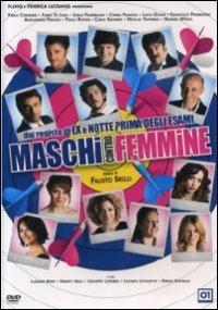 Cover Dvd Maschi contro femmine