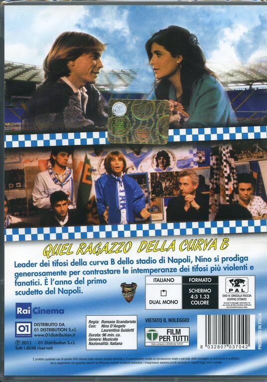 Quel ragazzo della curva B di Romano Scandariato - DVD - 2