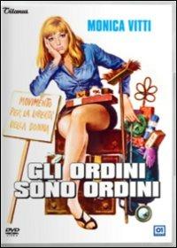 Cover Dvd ordini sono ordini (DVD)