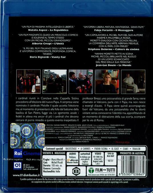 Habemus Papam di Nanni Moretti - Blu-ray - 2
