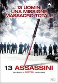 13 assassini di Takashi Miike - DVD