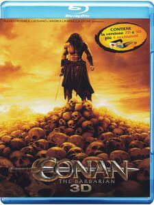 Conan the Barbarian 3D (Blu-ray + Blu-ray 3D) di Marcus Nispel