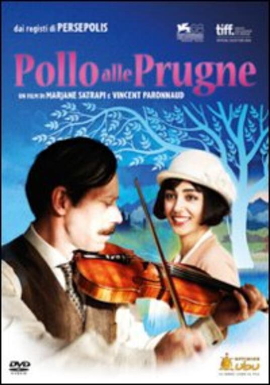 Pollo alle prugne di Marjane Satrapi,Vincent Paronnaud - DVD